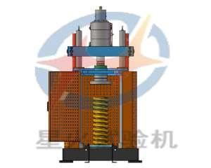 电液伺服弹簧压力机 400kN