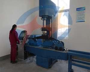 液压式钢板弹簧压力试验测试机